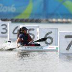 Katherine Wollermann ocupó el cuarto lugar en la final del canotaje en Río 2016