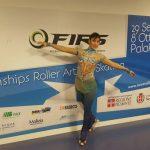 Patinadora Francisca Cabrera clasificó a los Juegos Mundiales 2017