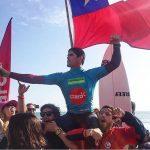 Manuel Selman se quedó con el título panamericano de surf