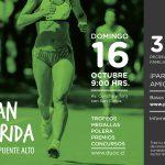 Se abrieron las inscripciones para la Sexta Gran Corrida DUOC UC Puente Alto