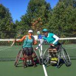 Macarena Cabrillana se tituló campeona de dobles del US Open Wheelchair