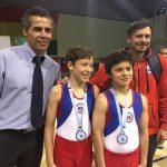 Selección Pre Infantil de gimnasia artística realiza gran actuación en el Sudamericano