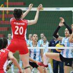 Chile cayó ante Argentina en su debut por el Sudamericano Femenino Sub 20 de Volleyball
