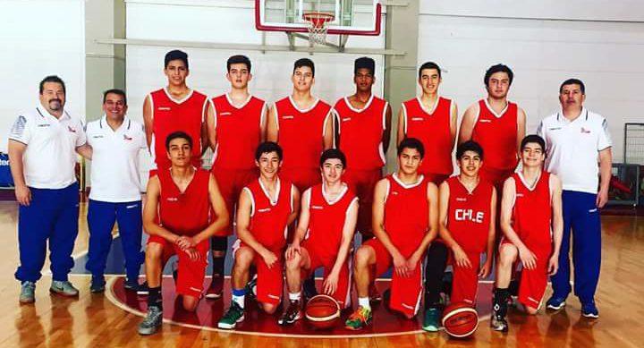 Chile sub 15 básquetbol