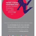 Este martes comienza el I Panamericano de Clubes Femenino de Handball