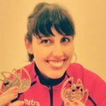 Bárbara Hernández ganó nuevas medallas en la Copa del Mundo de Aguas Gélidas en Letonia