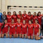 Selección chilena femenina sumó un nuevo triunfo en el Sudamericano Cadete de Handball