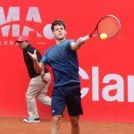 Esteban Bruna avanzó a segunda ronda de la qualy del Challenger de Buenos Aires