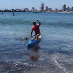 Canotaje entrega nuevas medallas de oro para Chile en los Juegos Bolivarianos de Playa