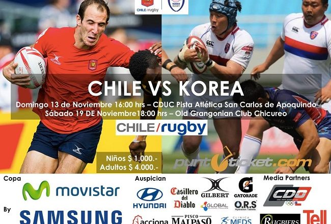 chile-corea-rugby