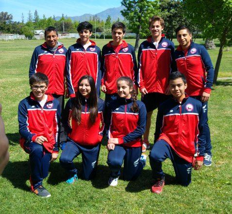 Selección Chilena Juvenil Racquetball