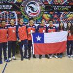 Chile obtuvo dos medallas de bronce en el Mundial Junior de Racquetball