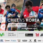 """Los """"Cóndores"""" enfrentan a Corea en el Old Grangonian Club"""
