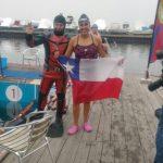 Bárbara Hernández obtuvo medalla de oro en nueva fecha del Mundial de Aguas Gélidas