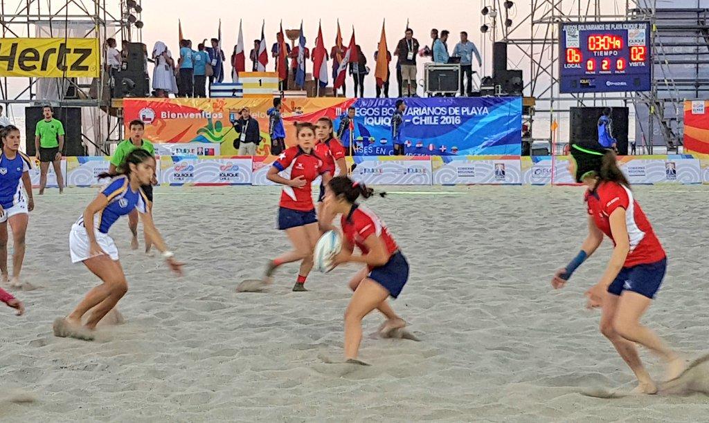 Chile Rugby PLaya Damas