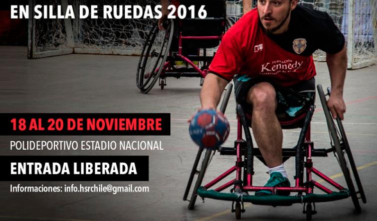 handbol silla de ruedas