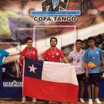Tenimesistas obtienen cinco medallas de oro en la Copa Tango en Argentina