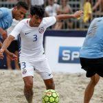 Chile jugará por el quinto lugar de la Copa América de Fútbol Playa