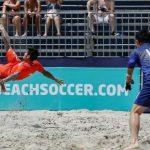 Chile se quedó con el sexto lugar de la Copa América de Fútbol Playa