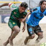 Deportes Iquique derrotó a Reales Miranda por la Copa Libertadores de Fútbol Playa