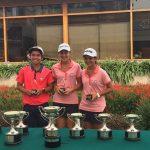 Chilenos cerraron una buena participación en el XVI Torneo Internacional de Menores de Golf