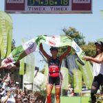 Bárbara Riveros logra el tricampeonato del Ironman 70.3 Pucón