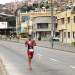 Gaspar Riveros y Pamela Tastets ganaron el Triatlón Olímpico de Valparaíso 2017
