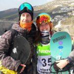 Antonia Yañez logró un histórico octavo lugar en el Mundial de Freestyle Ski y Snowboard