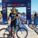 Felipe Barraza obtuvo el quinto lugar en el Campeonato Sudamericano e Iberoamericano de Triatlón
