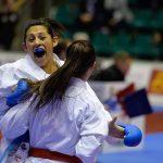 Gabriela Bruna ganó medalla de bronce en la Premier League de Karate en Toledo