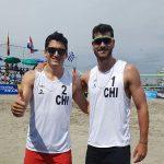 Primos Grimalt y dupla Rivas/Mardones avanzan a semifinales de la segunda fecha del Circuito Sudamericano de Volley Playa