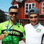Antonio Cabrera y Edison Bravo se alistan para el Mundial de Ciclismo en Pista