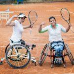 Macarena Cabrillana y Alexander Cataldo se titularon campeones de dobles del Wheelchair Chile Open