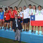 Chile se tituló campeón sudamericano juvenil de remo