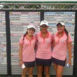 Equipo femenino nacional ocupó el séptimo lugar en el Sudamericano Juvenil de Golf