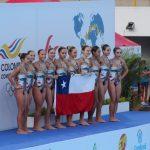Chile obtuvo el tercer lugar en el Sudamericano Juvenil de Nado Sincronizado