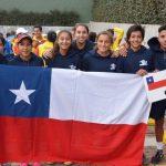 Equipo femenino chileno terminó en el sexto lugar del Sudamericano Sub 16 de Tenis