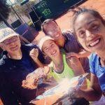 Daniela Seguel se tituló campeona de dobles en torneo ITF de Túnez
