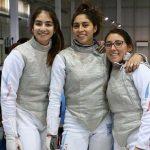 Equipo de florete femenino obtuvo el lugar 15 en el Mundial Cadete y Juvenil de Esgrima