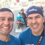 Hernán Leal y Ernesto Olivares inician su traslado al campamento base del Everest