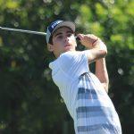 Joaquín Niemann alcanzó el liderato del Taylormade-Adidas Golf Junior