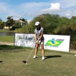 Equipo chileno femenino se ubica octavo tras segunda jornada del Sudamericano Juvenil de Golf