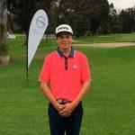 Vicente Basagoitía es uno de los líderes del Colombian Junior International de Golf