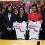 Medallistas panamericanos de ciclismo se reunieron con el Ministro del Deporte