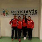 Esgrimistas chilenas logran destacada actuación en torneo satélite de Islandia