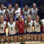Chile obtuvo el octavo lugar de la Copa Panamericana Sub 20 de Volleyball Femenino