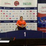 Camila Campos y Jorge Carinao ganan medallas en la Copa del Mundo de Pesas Paralímpicas