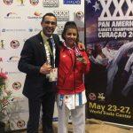 Carolina Videla se tituló campeona panamericana de karate