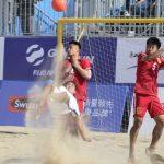 Chile cayó ante China en cuadrangular internacional de fútbol playa