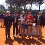 Fernanda Labraña se tituló campeona de dobles del Torneo Città di Prato